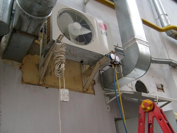 Установка кондиционера и вентиляции в доме - фото работ - Фотогалерея